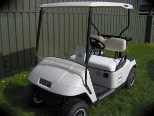e-z-go electric golf carts